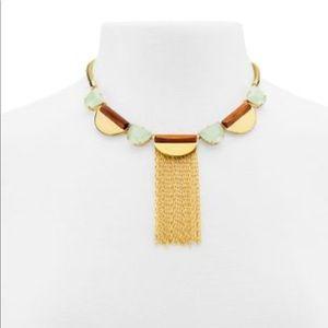 Henri Bendel NWT Dutchess Stone Gold Collar